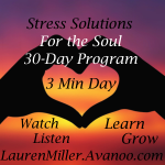 stress solutions for the soul-Lauren E Miller
